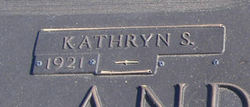 Kathryn <i>Stowe</i> Anderson