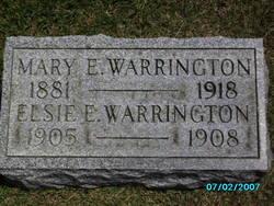Mary E. <i>Cordrey</i> Warrington