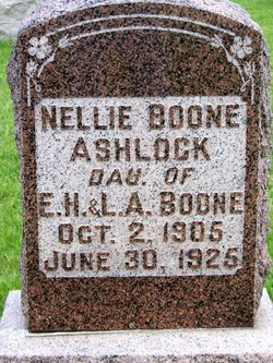 Nellie <i>Boone</i> Ashlock