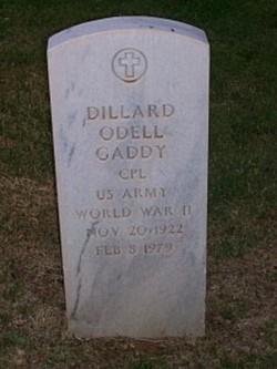 Dillard Odell Gaddy