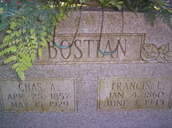 Frances E. <i>Crowder</i> Bostian