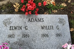Willie Lucile <i>Grider</i> Adams