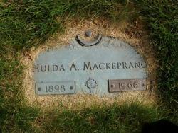Hulda A <i>Hamann</i> Mackeprang