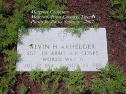 Alvin Harry Arhelger