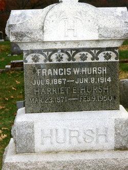 Harriet Elizabeth <i>Whitaker</i> Hursh