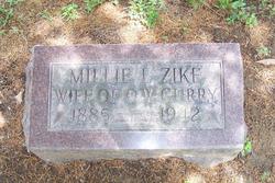 Millie Lavada Mattie <i>Zike</i> Curry