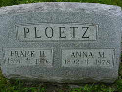 Anna M <i>Schroeder</i> Ploetz