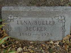 Lena <i>Buller</i> Becker