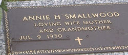 Annie <i>Helms</i> Smallwood