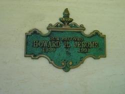 Howard Holmes Jerome