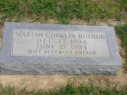 Marian <i>Conklin</i> Buthod