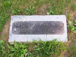 Nellie P <i>Hower</i> Armstrong