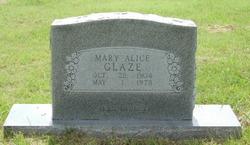 Mary Alice Glaze