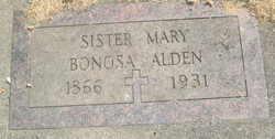 Sr Mary Ellen <i>Bonosa</i> Alden