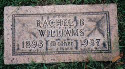 Rachell B <i>McConnell</i> (Benedict)Williams