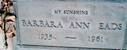 Barbara Ann <i>Taylor</i> Eads