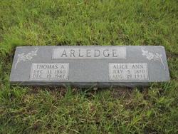 Alice Ann Arledge