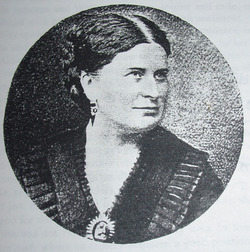 Jane Claudia Mrs. Bradley T. Johnson <i>Saunders</i> Johnson