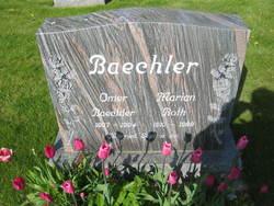 Marian <i>Roth</i> Baechler