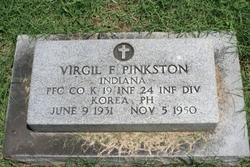 PFC Virgil F Pinkston