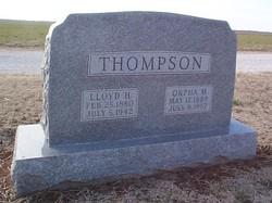 Lloyd Henry Thompson