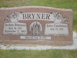 JoAnn <i>Peterson</i> Bryner