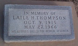 Laile Hunter Thompson
