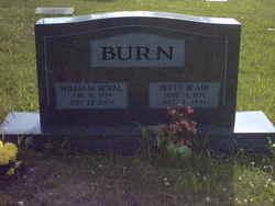 Betty <i>Blair</i> Burn