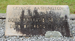 Maj George Washington Bowen