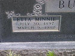 Etta Minnie Burris