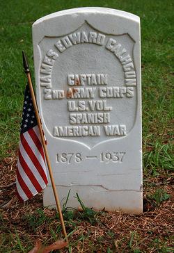 Capt James E Calhoun