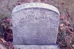 Mary Ann <i>Stell</i> Allen