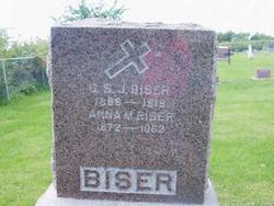 Anna M. <i>Carberry</i> Biser