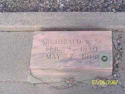 Archibald Waller Overton Buchanan, Sr