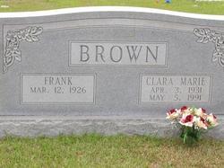 Clara Marie <i>Hooker</i> Brown