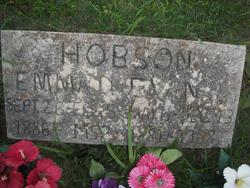 Emma Dora <i>Ormsby</i> Hobson