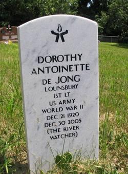 Dorothy Antoinette DeJong