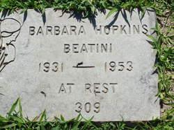 Barbara <i>Hopkins</i> Beatini