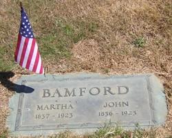 Martha Rebecca <i>Wonder</i> Bamford