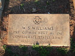 Pvt William Sims Williams