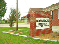Boanerges Baptist Church Cemetery