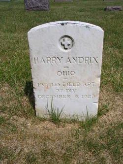 Harry Seward Andrix, Sr