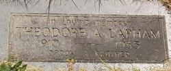 Theodore Alexander Ted Lapham
