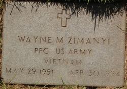 Wayne M Zimanyi