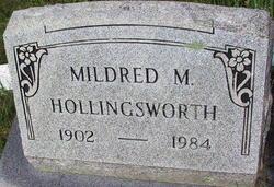 Mildred M. Hollingsworth