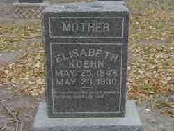 Elisabeth <i>Becker</i> Koehn