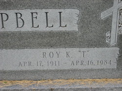 Roy Kenneth T Campbell