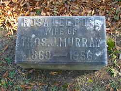 Rosa Lee <i>Pope</i> Murray