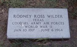 Col Rodney Ross Hoss Wilder