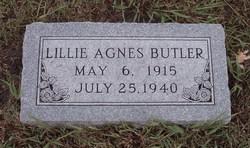 Lillie Agnes Butler